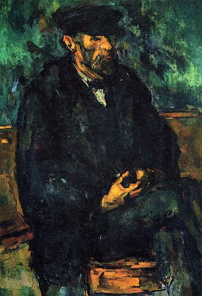 - 408px Le Jardinier Vallier par Paul Ce  zanne Yorck - Cézanne chez Monet !
