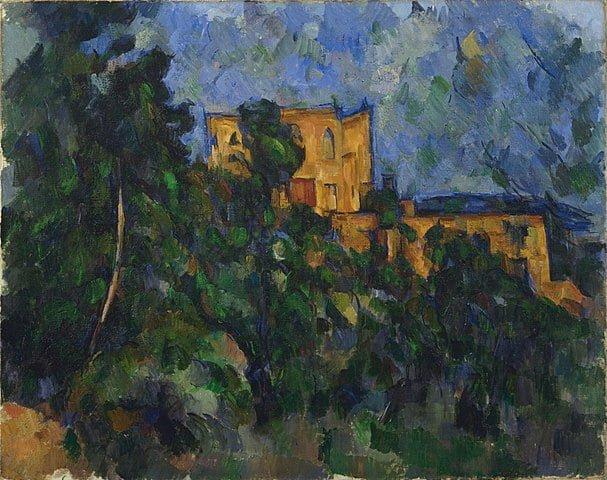 - 607px Paul Ce  zanne   Cha  teau Noir   Google Art Project - Cézanne chez Monet !